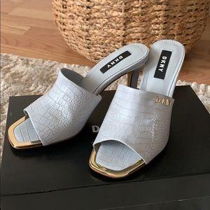 DKNY slide high heel
